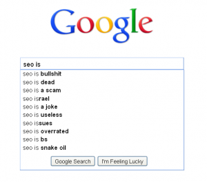 google suggest seo is